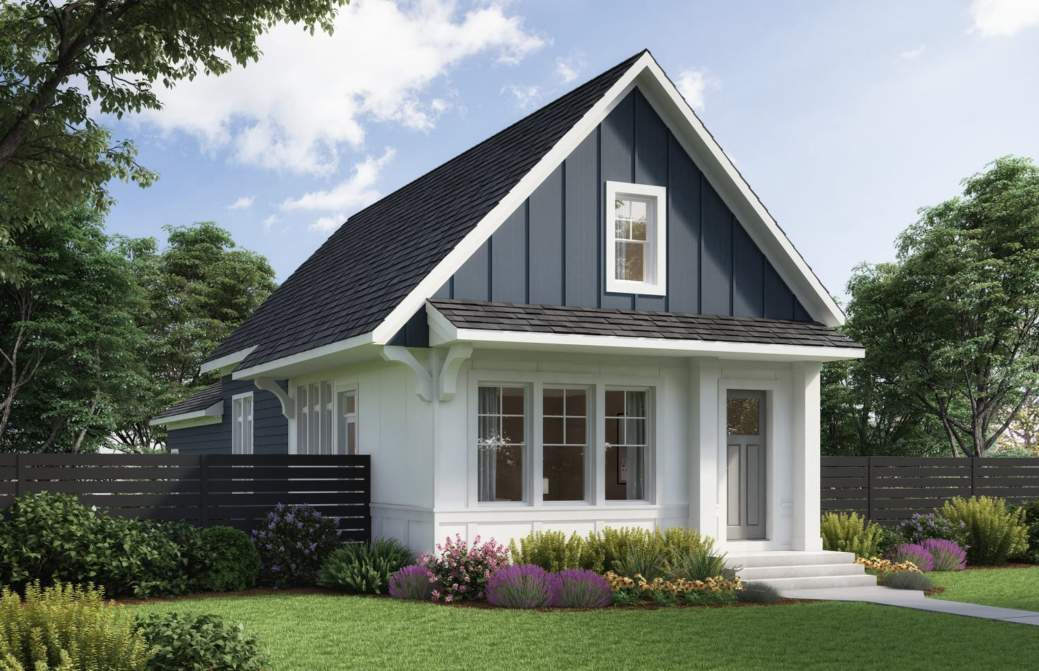 Exterior K Revival ONE Elevation A