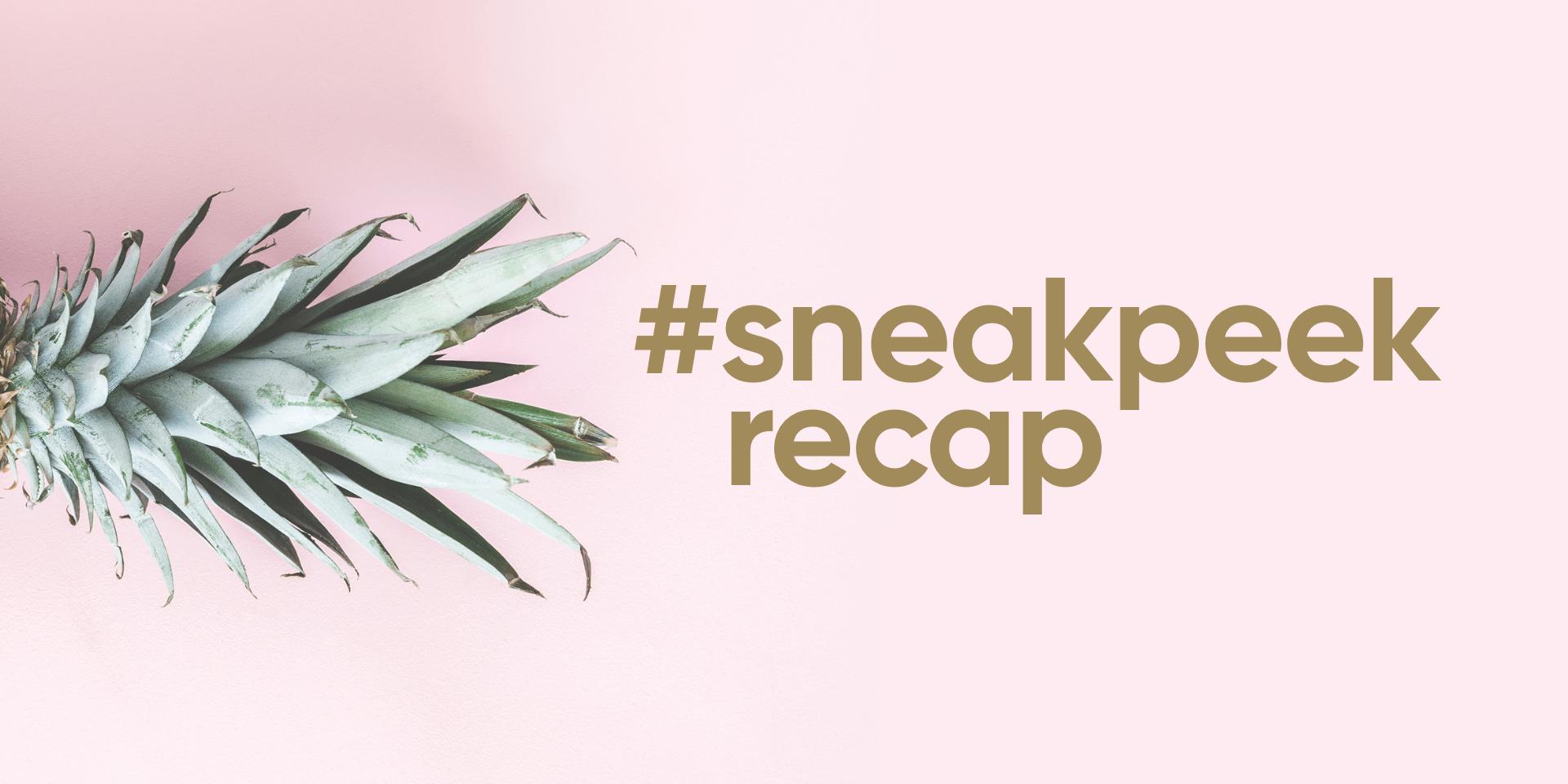 Sneak Peek Revival Collection