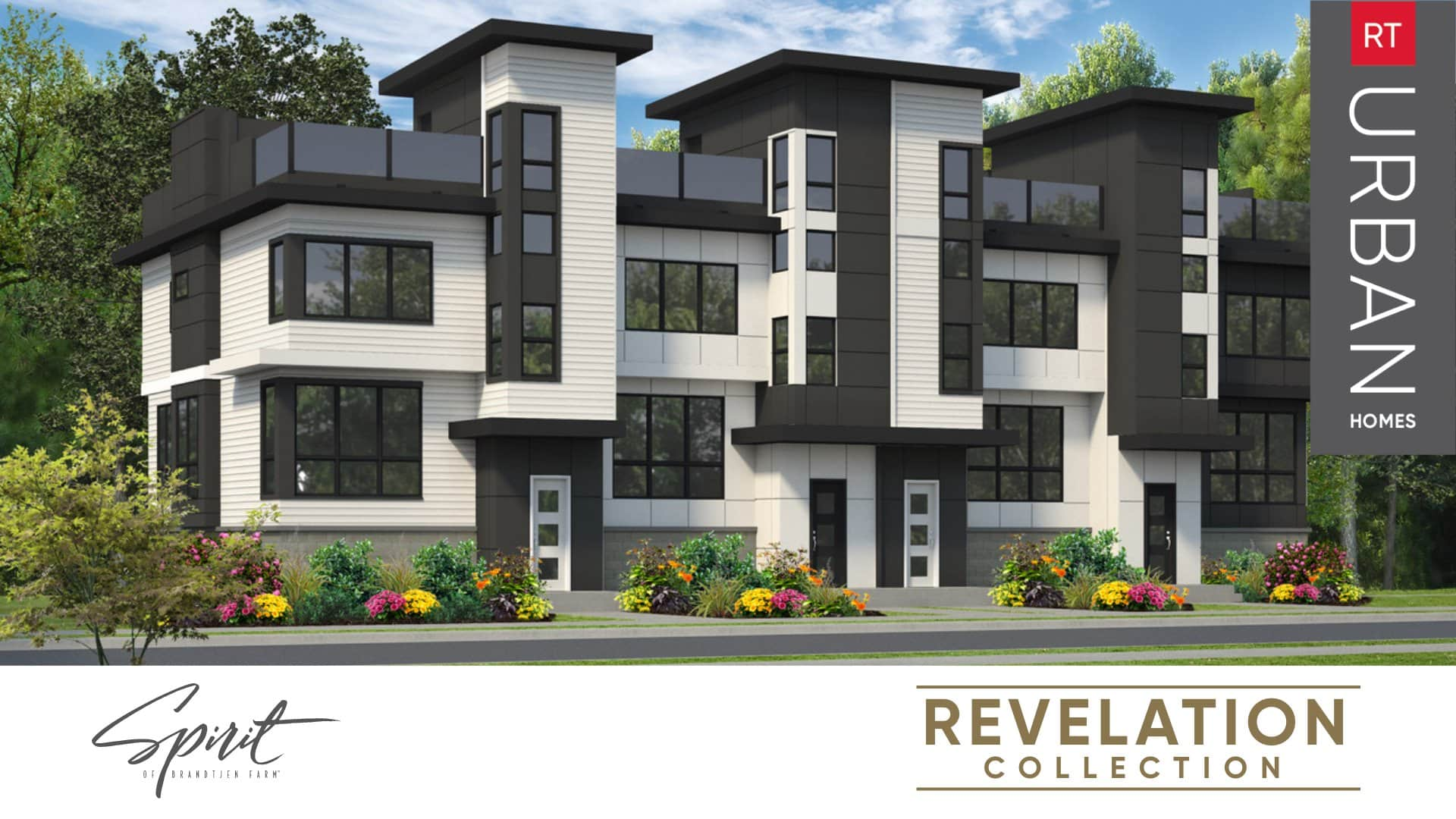 Introducing The Revelation Collection Attached Townhomes From RT Urban Homes